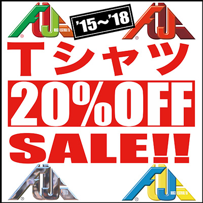 Tシャツ10%OFFSALE!!